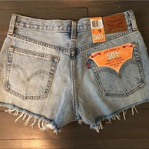 Levi's 501 Original Fit High-waisted Shorts